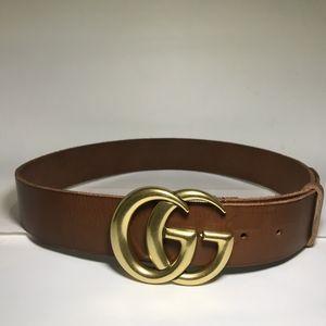 Brown Bras GG Belt